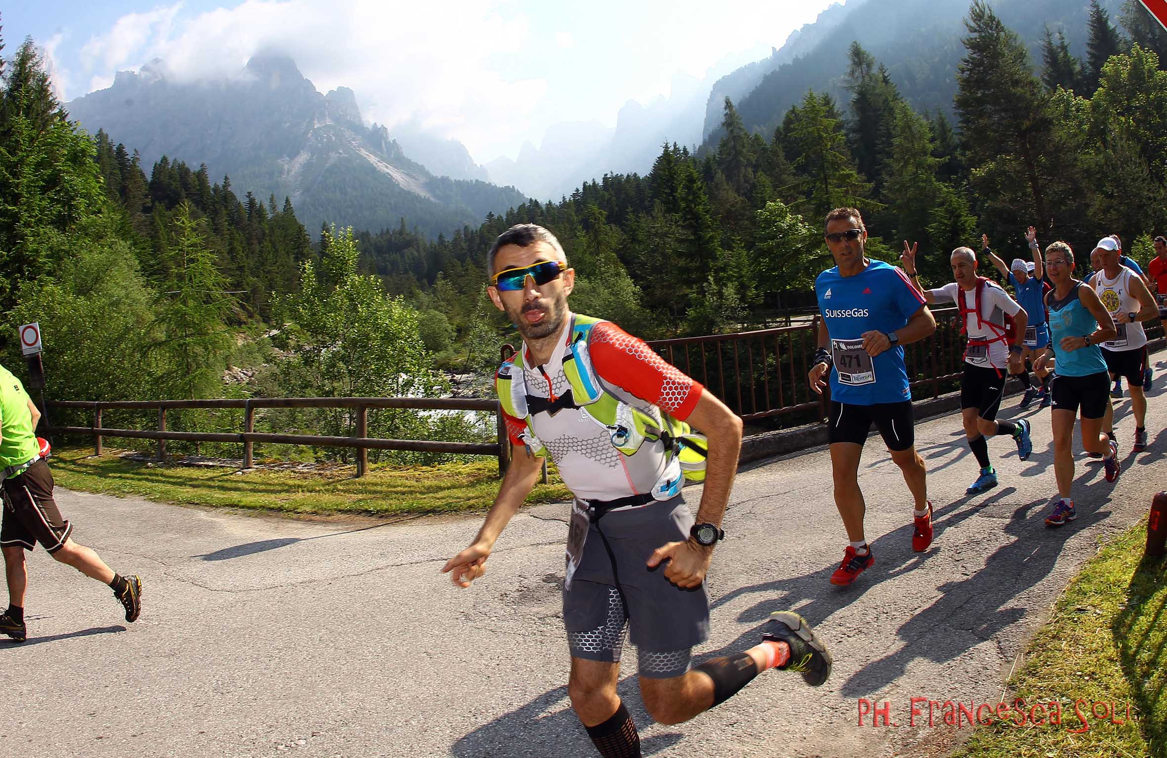 Primiero Dolomiti Marathon - Linguaccia